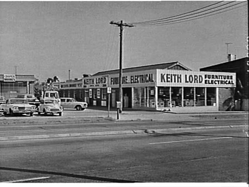 Keith Lord Furniture And Electrical, Ashfield NSW, April 1965. Image  Courtesy Library Of NSW.