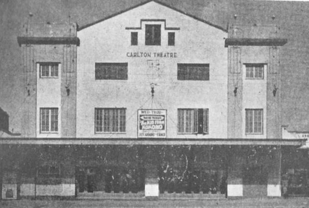 Carlton Odeon, 1939. Image courtesy Barry Sharp/Ken Taylor.