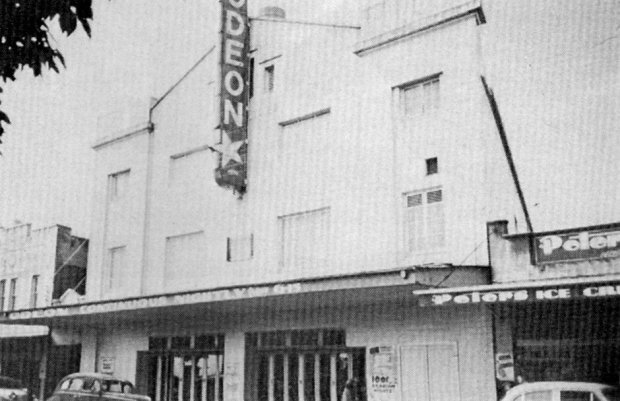 Carlton Odeon, 1959. Image courtesy Barry Sharp/Ken Taylor.