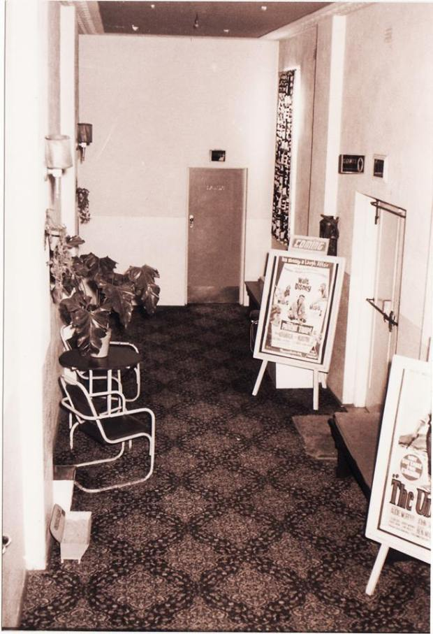 Oatley Theatre foyer, 1961. Image courtesy Mr. W Collins