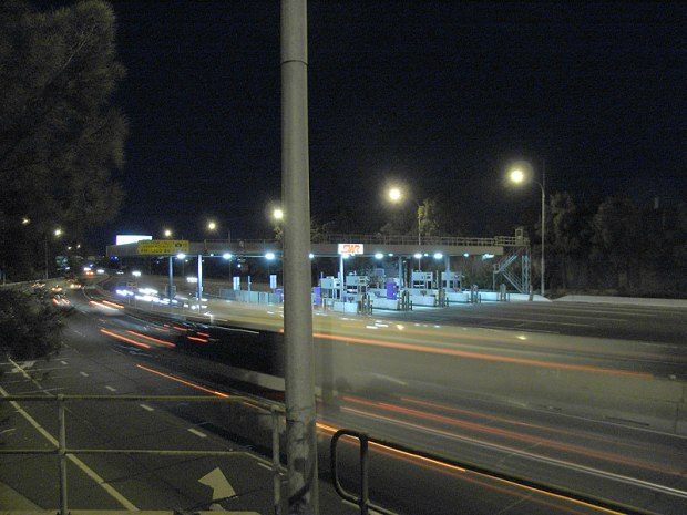 SWR tollbooths, 2007. Image courtesy someone who isn't me.