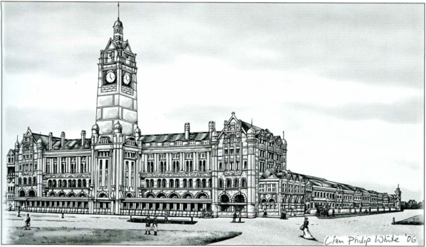 The planned terminus for Hyde Park. Image courtesy RailCorp.