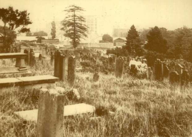 Ghouls. Devonshire Street Cemetery, 1901. Image courtesy RAHS.
