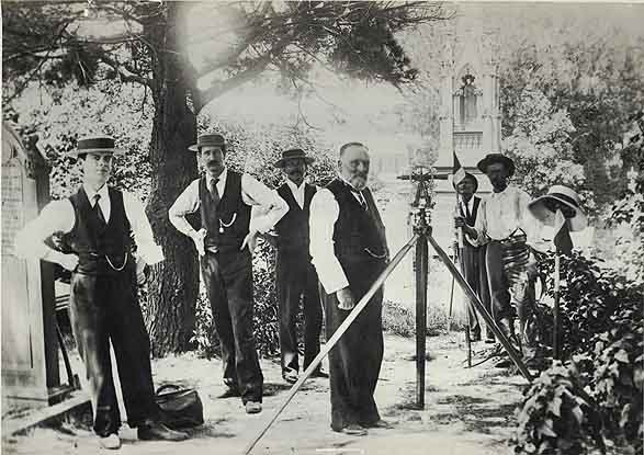 Preparations, December 1900. Image courtesy State Records NSW.