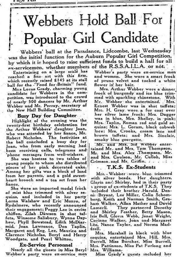 Cumberland Argus, August 14, 1946.