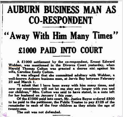 Cumberland Argus, October 21 1937.