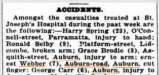 Cumberland Argus, April 30 1921.