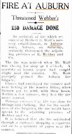 Cumberland Argus, July 31 1930.