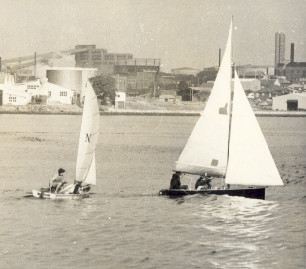 A day on the water, 1970. Image courtesy City of Canada Bay.