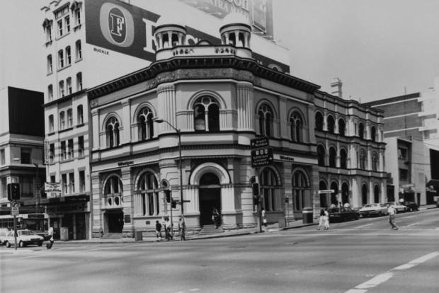 Bank of NSW, 1989. Image courtesy City of Sydney Archives