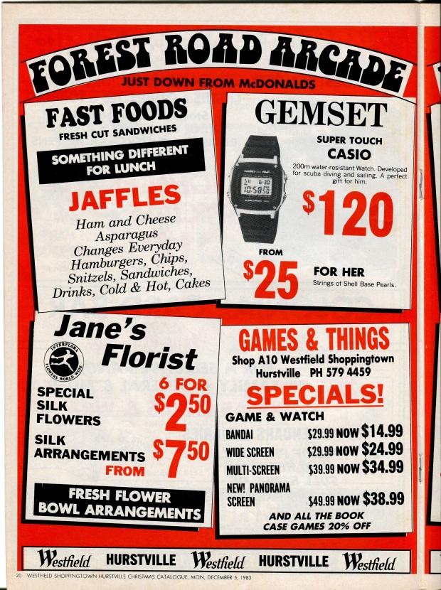 Jaffles. How...exotic.
