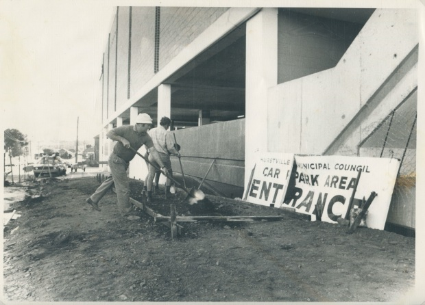 Keeping the sign around was a sick touch, 1978. Image courtesy Hurstville Council