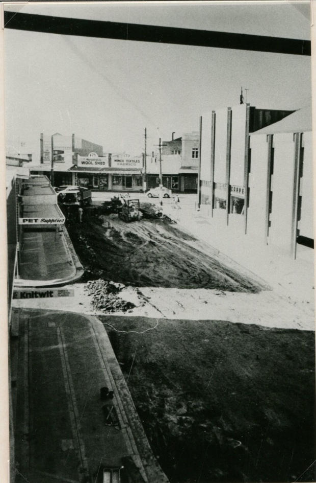 Rose St razed, 1977. Image courtesy Hurstville Council