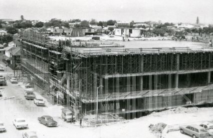 Westfield takes shape, 1978. Image courtesy Hurstville Library
