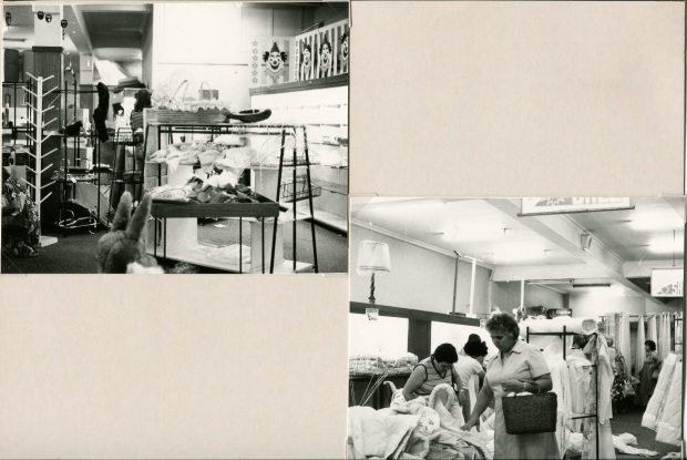 Barter's Fire Sale, January 1985. Image courtesy Hurstville Council