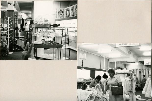 Barter's Fire Sale, January 1985. Image courtesy Hurstville Council