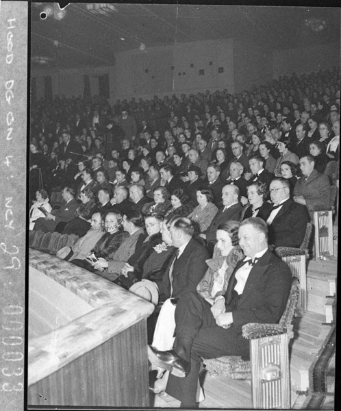 Opening night at the Savoy, 1937. Image courtesy State Library NSW