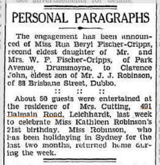 Dubbo Liberal and Macquarie Advocate, 11 February 1939